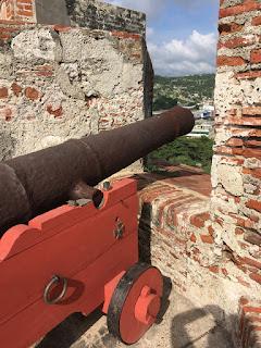 Foto Sylvia Leite - Matéria Castelo de São Felipe de Barajas - BLOG LUGARES DE MEMÓRIA