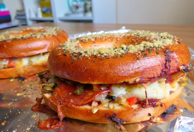 Ultimate Pizza Bagels