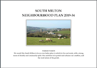 Cover of South Milton Neighbourhood Plan