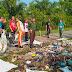 Ratusan Siswa di Tanjung Mutiara Goro Bersihkan Pantai Pasie Tiku