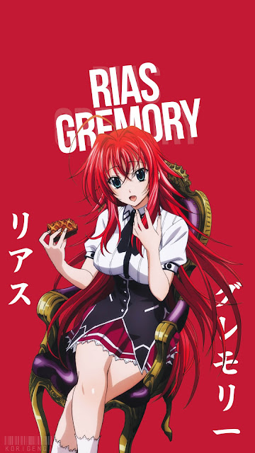 rias gremory wallpaper hd