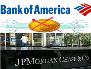 Bank of America و Citibank يمنعان استخدام بطاقاتهم الائتمانية من اجل شراء العملات الرقمية