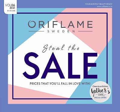 download Oriflame catalogue June 2021 pdf