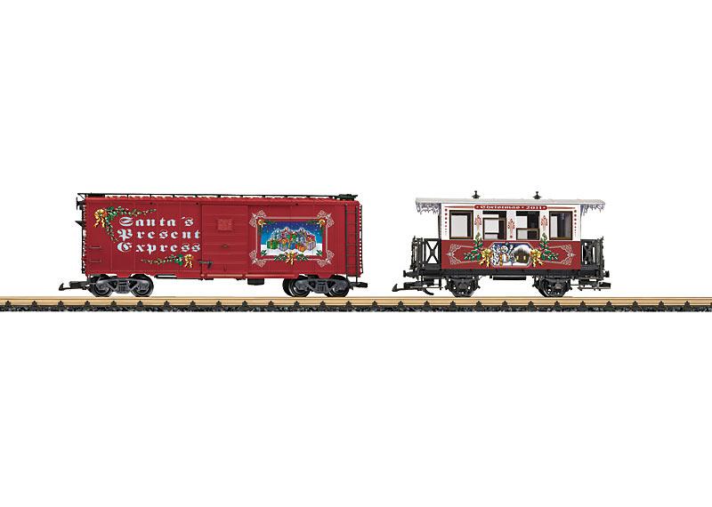 LGB trains: August 2011