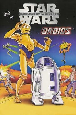 STAR WARS - AVENTURAS ANIMADAS DROIDS / GUERRA NAS ESTRELAS: DROIDS - A SÉRIE COMPLETA (SÉRIE PARA TV/DUAL ÁUDIO/1080P) – 1985–1986 Capa