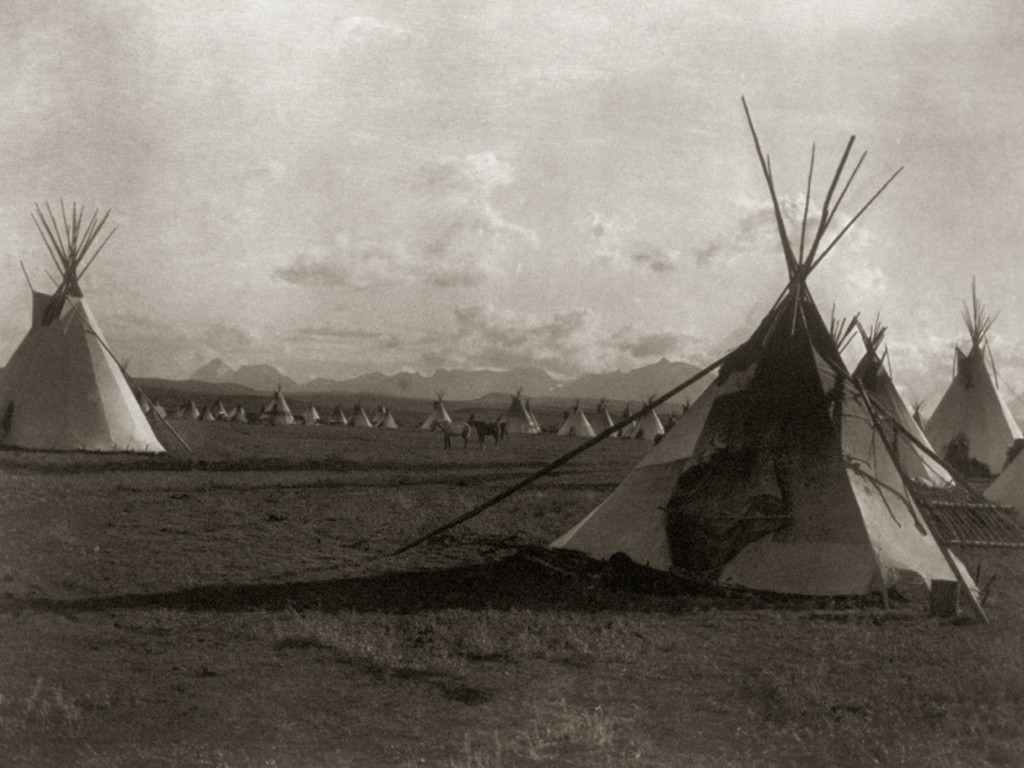Native American Indian Pictures: Blackfoot Indian Tribe