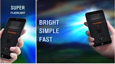 تطبيق مصباح يدوي قوي Bright LED Flashlight