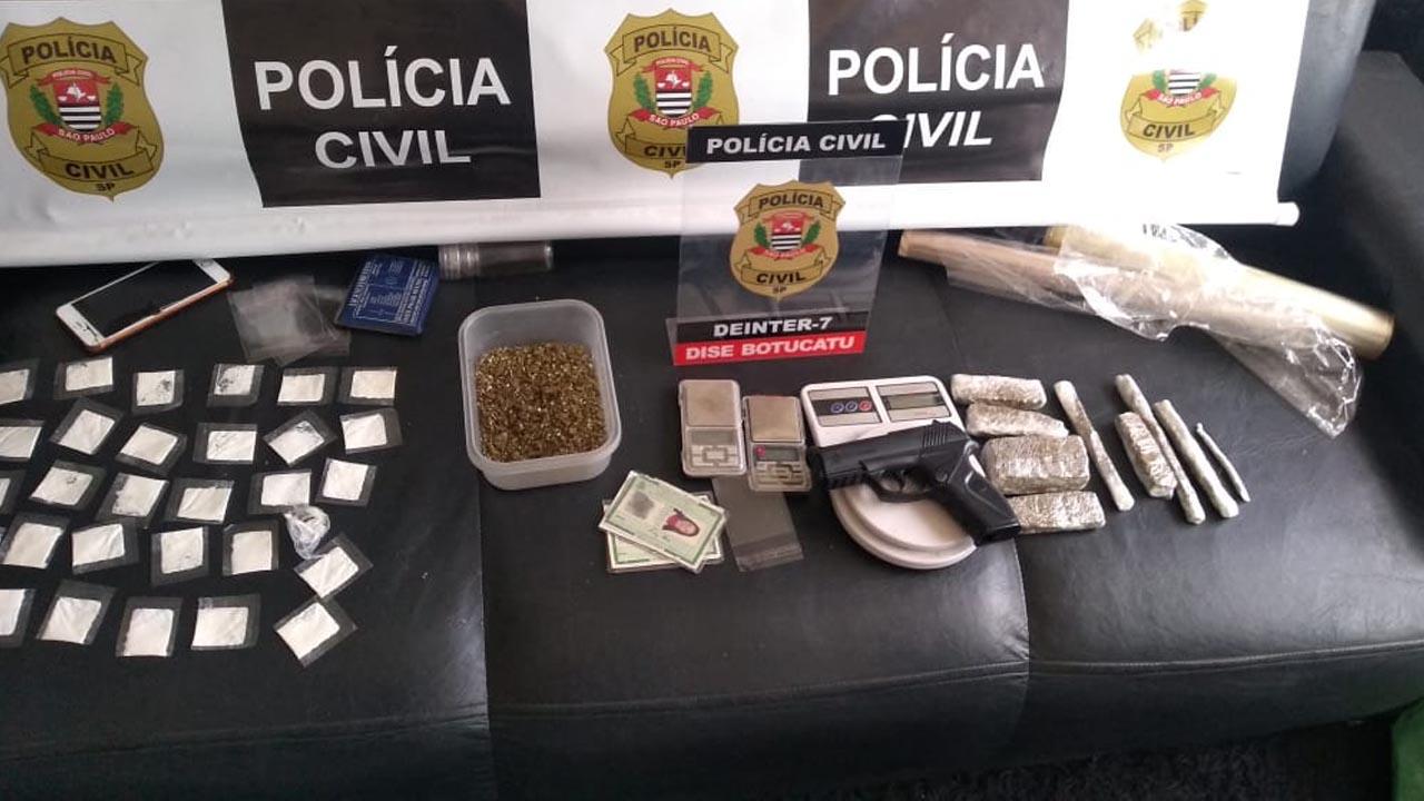 Polícia Civil acaba com disque drogas que operava em Rubião Júnior