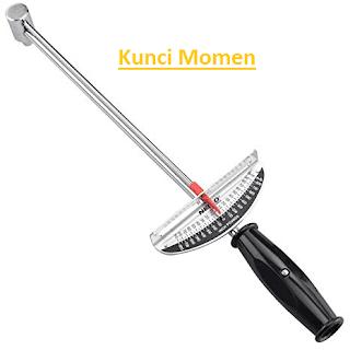 Torque wrench atau kunci torsi adalah salah satu alat  Pengertian, Jenis dan Fungsi Kunci Momen (Kunci Torsi) Lengkap