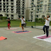 Grand Arista hosts Zumba Classes for relieving stress of the elderly