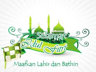 Koleksi Desain Kartu Ucapan Selamat Idul Fitri Keren