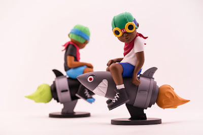ComplexCon 2017 Exclusive Beyond the Beyond Flyboy Vinyl Figure by Hebru Brantley x Billionaire Boys Club x BAIT