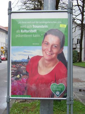 Silke Aichhorn zur Landesgartenschau Traunstein
