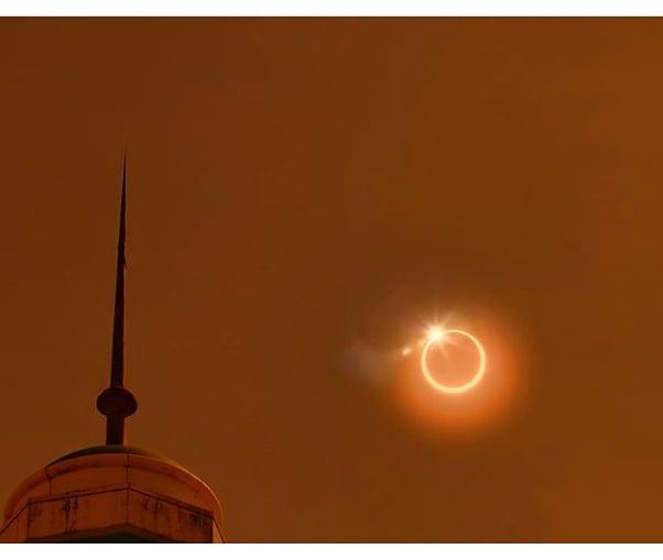 Shalat gerhana matahari cincin
