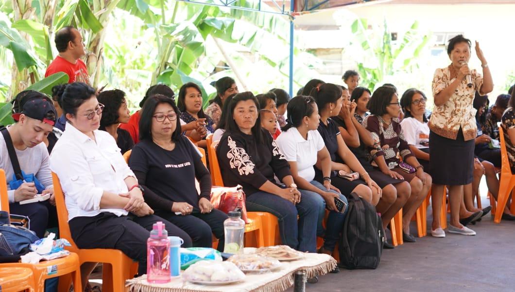 Kampung ini Baru Dikunjungi Bupati dan Wakil Bupati Sitaro
