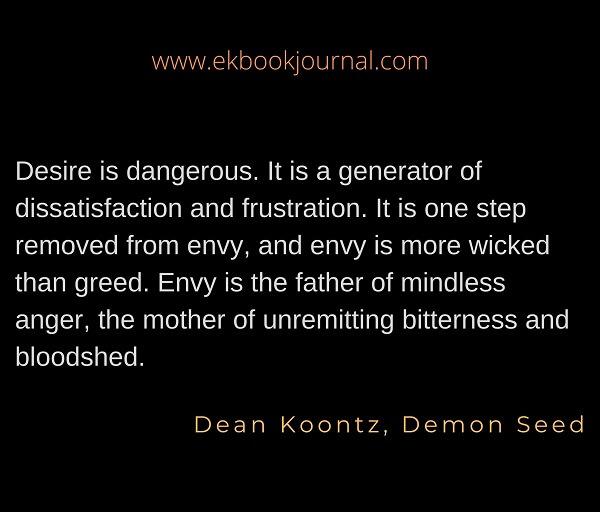 Dean Koontz | Demon Seed | Quotes