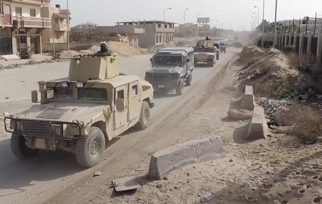 فيديو بيان رقم (3) بشأن العملية الشاملة للقوات المسلحة سيناء 2018