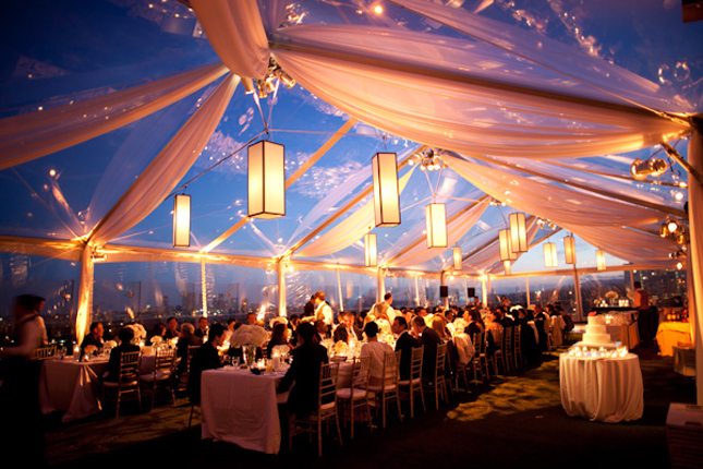 Affinity Events: Beautiful Wedding Tent Decor