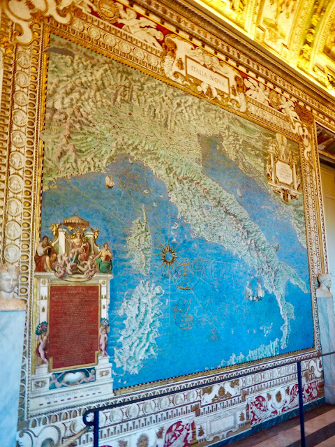 Gallery of Maps, Vatican Museums, Vatican City, Rome, Italy