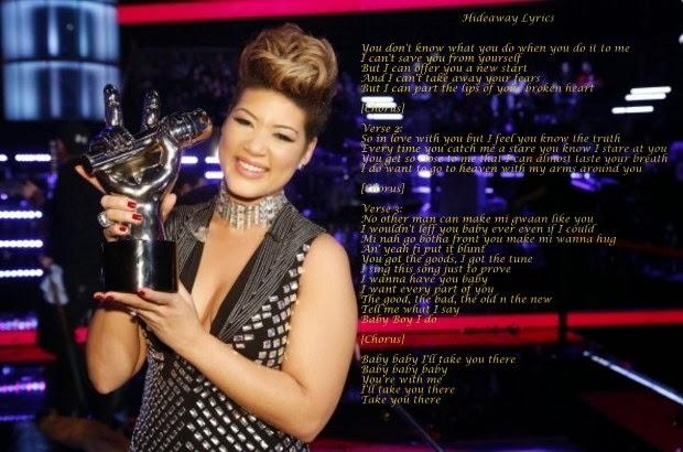 Tessanne Chin Hideaway Lyrics