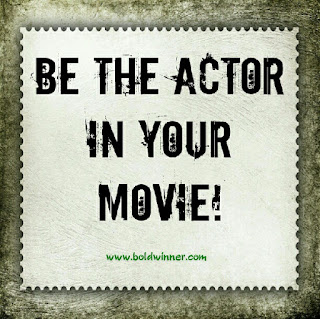 are you an actor in your life?