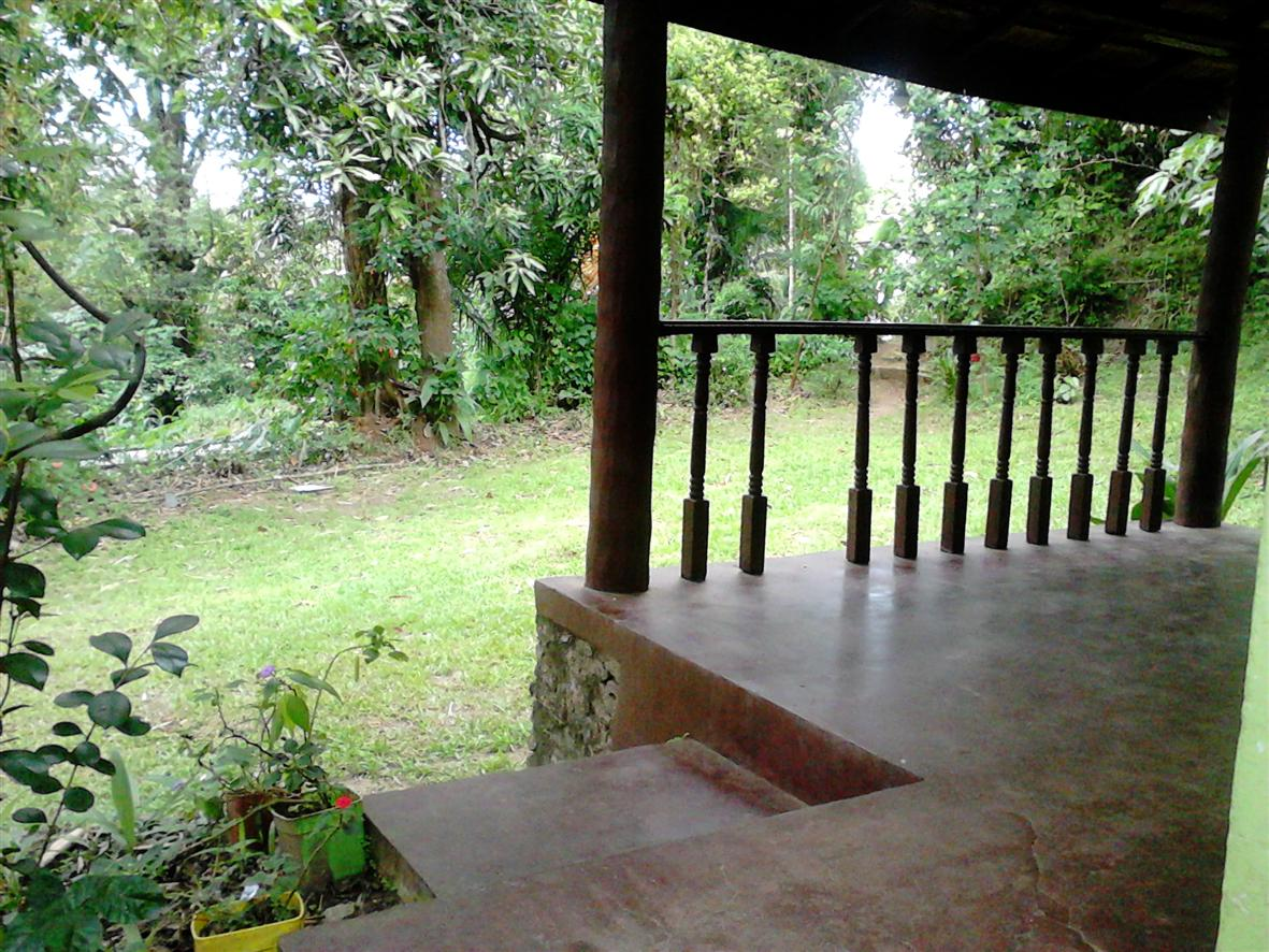 House veranda - Kandy Land for sale