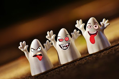 Halloween Scary ghosts
