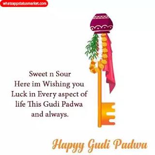 Gudi Padwa wishes images free download