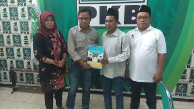 Masuk Bursa Bacabup di PKB Mojokerto, Kades Pesanggrahan :  Siap Wujudkan Kabupaten Mojokerto Yang Mandiri