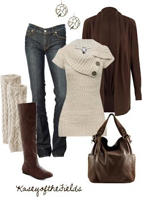 conjuntos de moda para invierno outfits para oto o