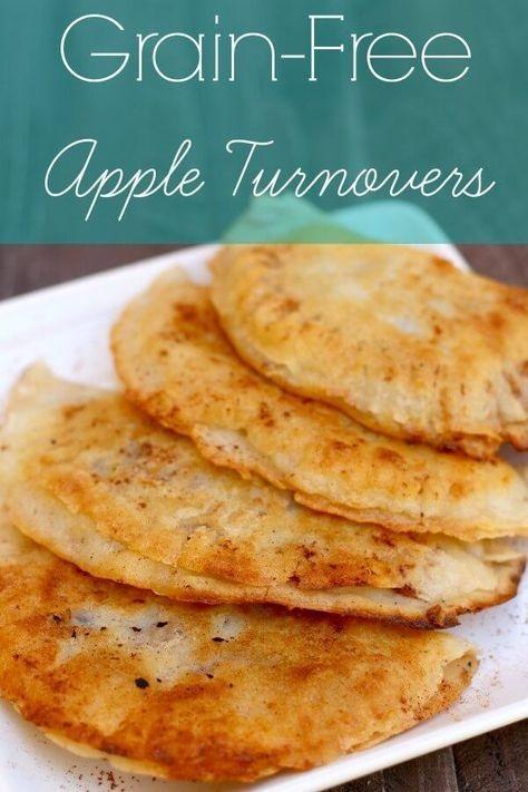 Grain Free Apple Turnovers