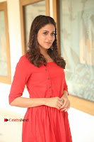 Actress Lavanya Tripathi Latest Pos in Red Dress at Radha Movie Success Meet .COM 0029.JPG