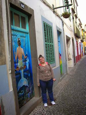 Rua Santa María, Casco Antiguo, Zona Velha, Funchal, Madeira, Portugal, La vuelta al mundo de Asun y Ricardo, round the world, mundoporlibre.com