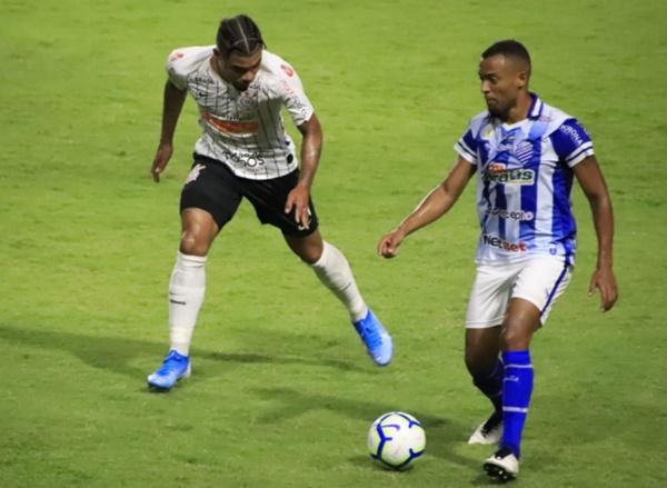 CSA vence o Corinthians