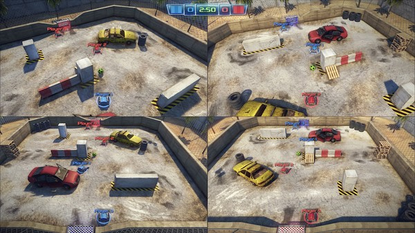Robot Soccer Challenge Game Setup