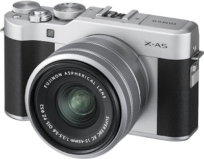 4. Fujifilm X-A5 Mirrorless Camera