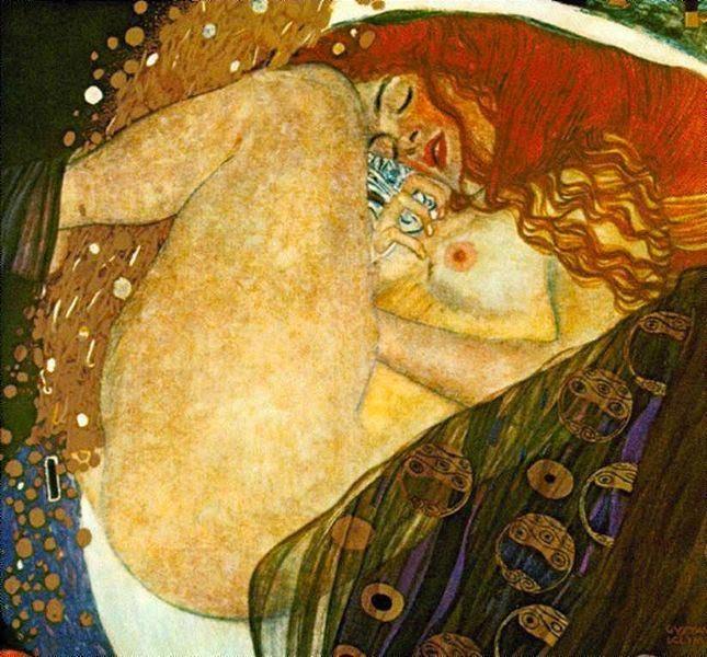 Denae - Gustav Klimt e suas pinturas ~ Pintor simbolista austríaco
