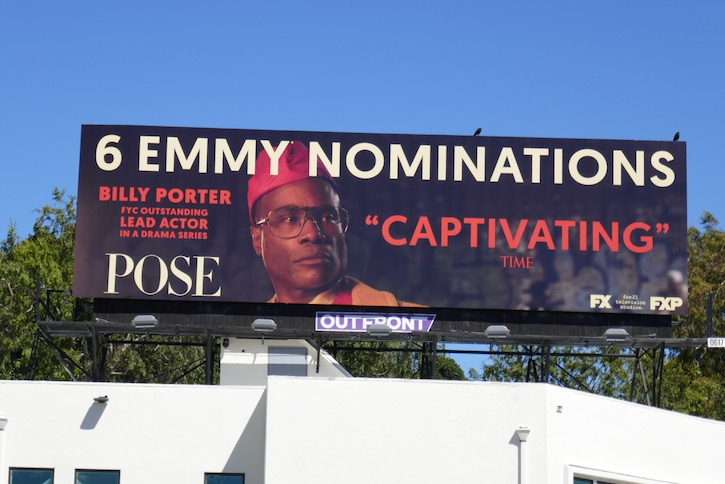 Billy Porter Pose season 2 Emmy billboard