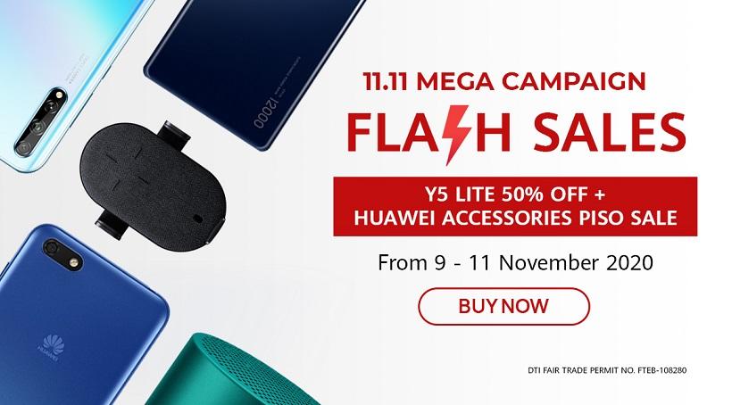 Huawei 11.11 Flash Sale