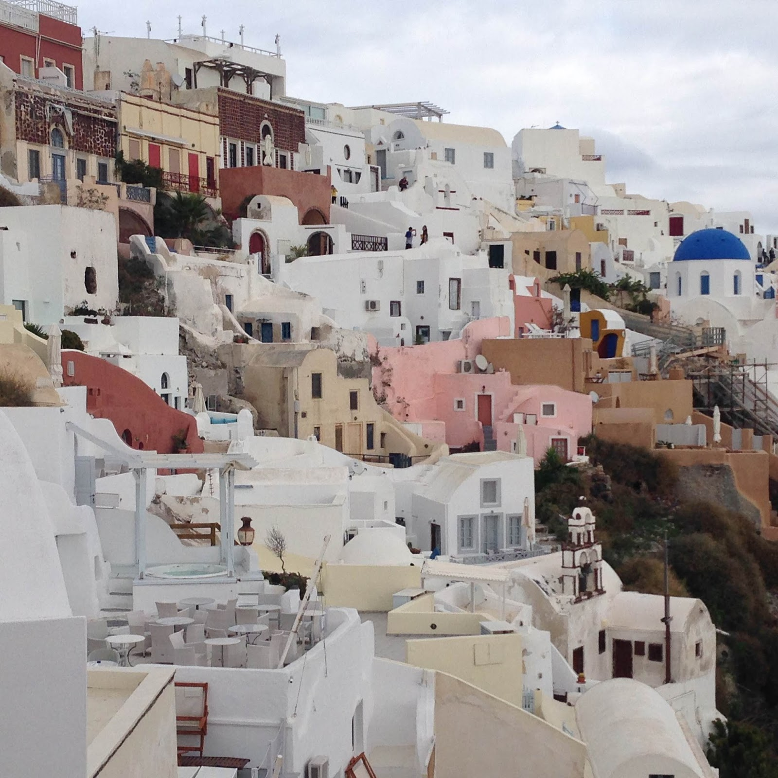 Whirled Adventures Thanksgiving In Oia Santorini Greece
