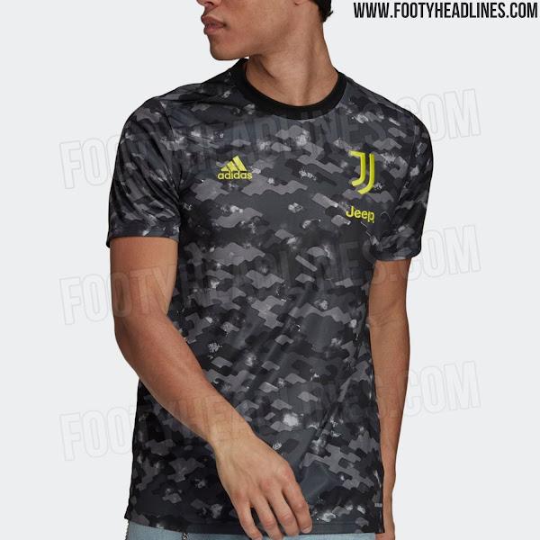 Juventus 21-22 Pre-Match Shirt & Anthem Jacket Leaked - Footy ...