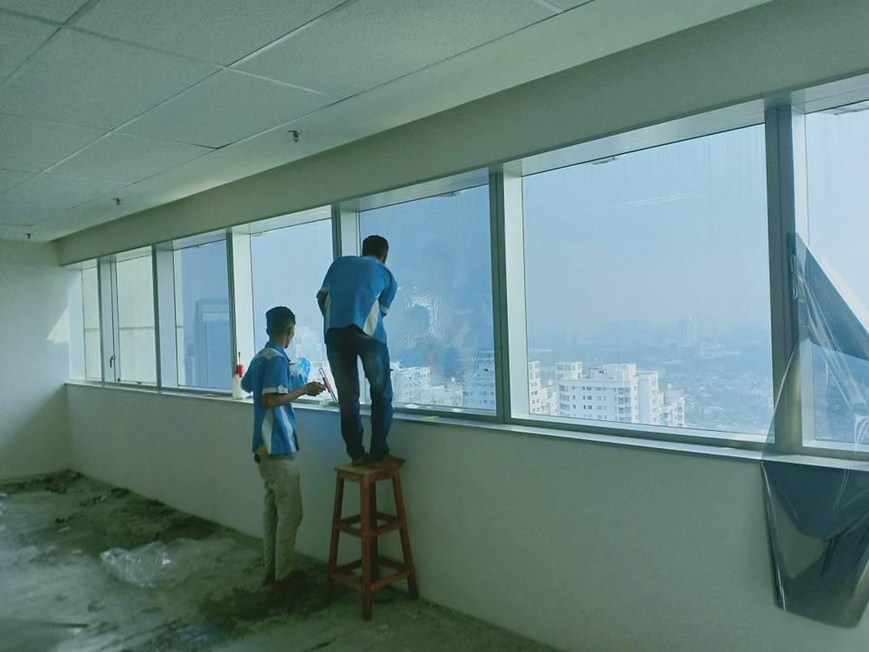 pasang kaca film hotel Pondok Melati Bekasi