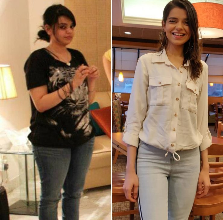 srha asghar weight loss