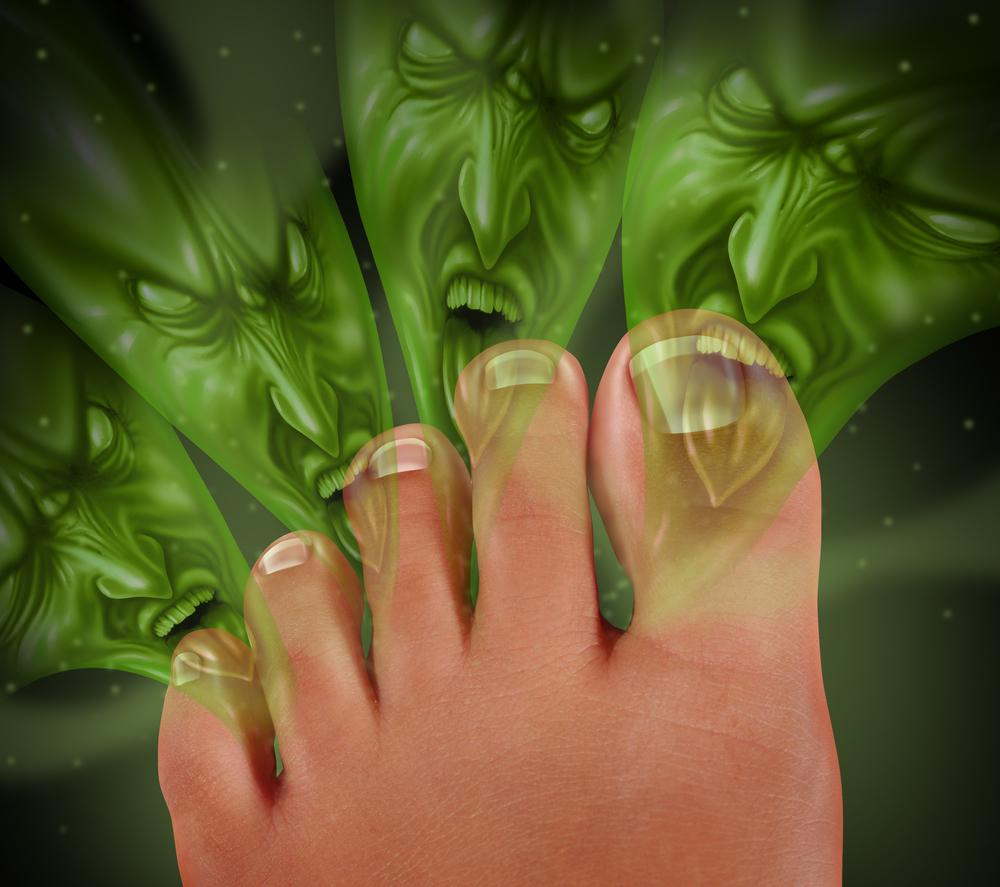 Apa yang menyebabkan bau kaki?