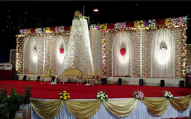 A Wedding Planner Indian Wedding Stage Decorations And