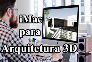 imac apple para arquitetura