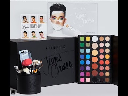 Morphe x James Charles Unleash Your Inner Artist