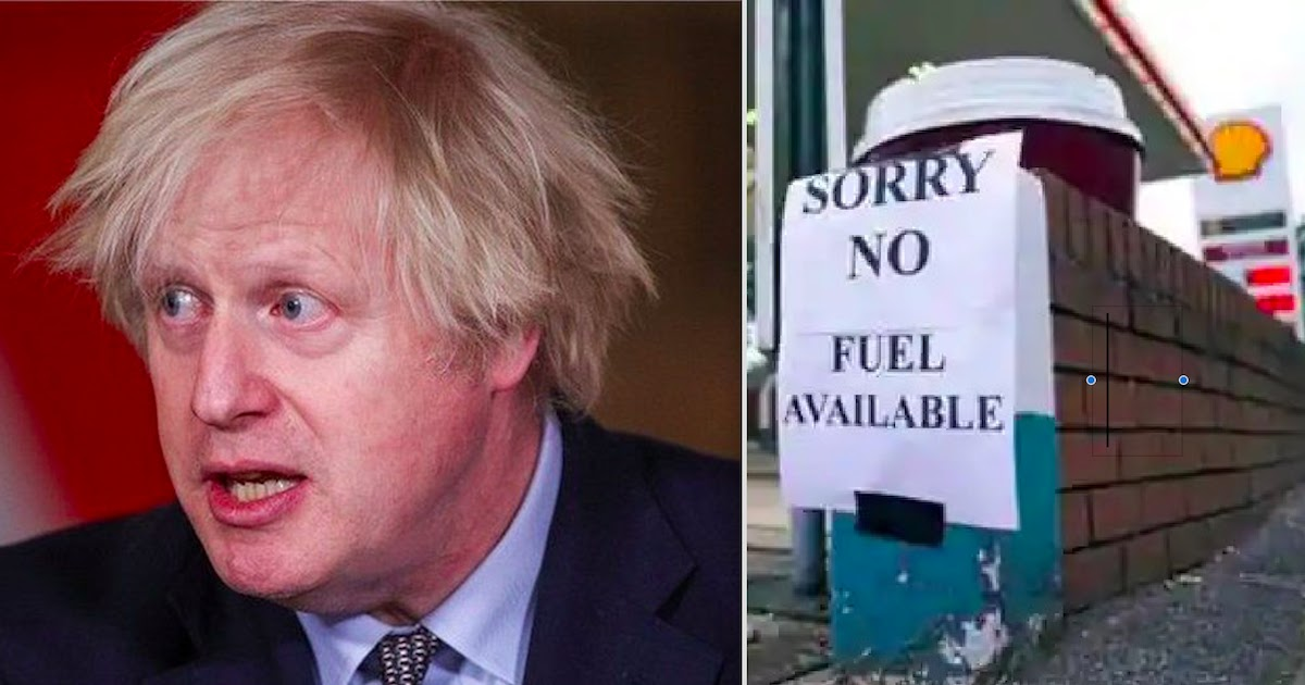 UK Faces Massive Fuel Shortages Caused By The Pandemic, Brexit And Mass Panic-Buying