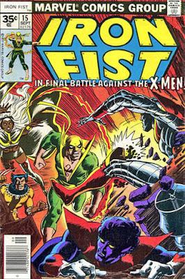 Iron Fist #15, the X-Men