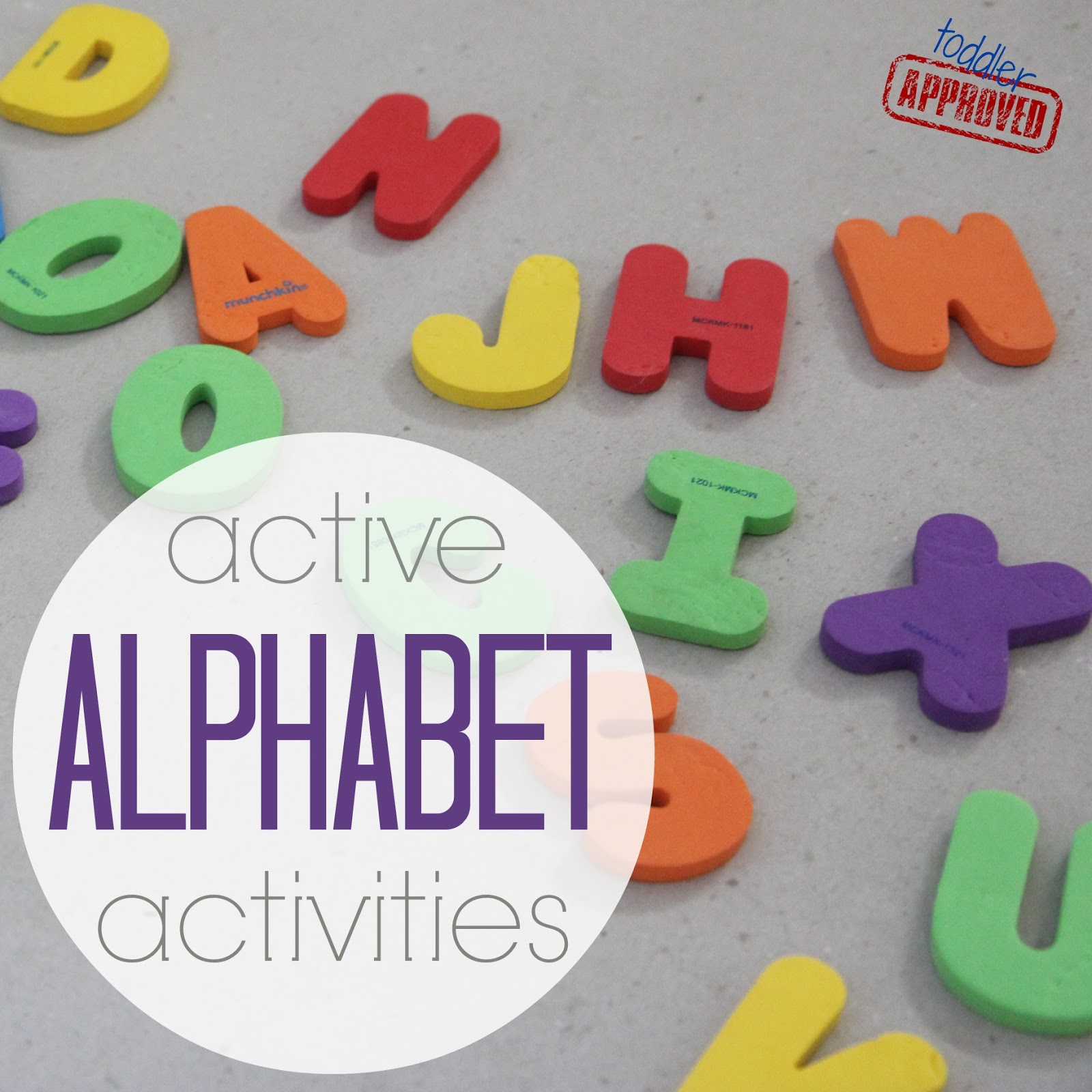 Toddler Approved Active Alphabet Activities Get Ready